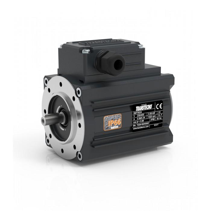 MOTOR TRANSTECNO SMT5034 B14 1500 RPM 230/400V 0,09KW IP66