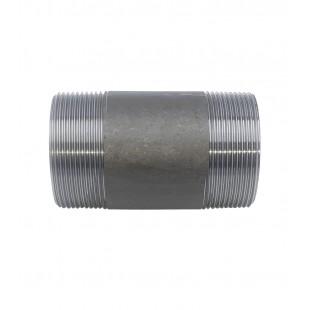 """NIPPLE HIERRO NEGRO M/M D-2982 (L.100MM) 1-1/2"""""""