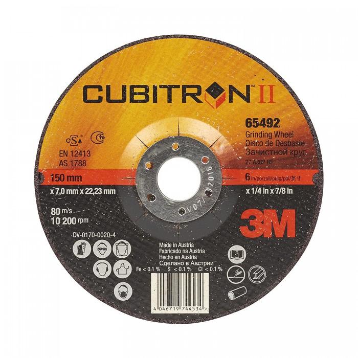 DISCO DE DESBASTE 3M   CUBITRON II  D-115X7 94003Q
