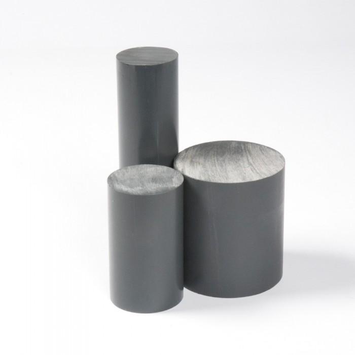 BARRA PVC GRIS Ø120MM