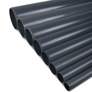 TUBO PVC PRESION PN-10 200MM ENCOLAR GRIS