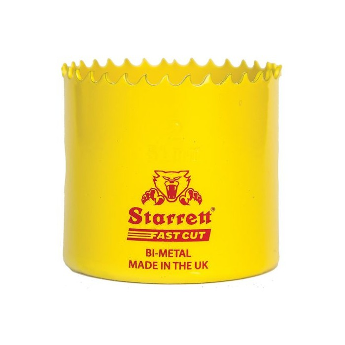 CORONA PERF BIMETAL FAST-CUT STARRETT 22
