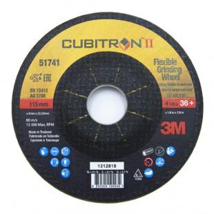 DISCO DESBASTE 3M CUBITRON II 115X3X22 G36 14440